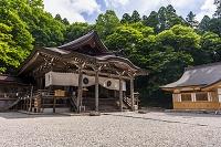 長野県 戸隠神社 中社 拝殿