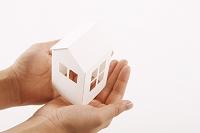 模型の家と手
