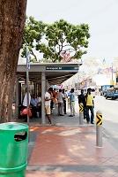 シンガポール リトルインディアのバス停