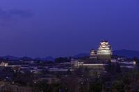 兵庫県 姫路城天守閣夜景