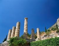ギリシャ デルフィのアポロン神殿