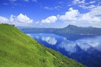 北海道 摩周湖第三展望台からの摩周湖