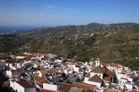 スペイン コスタ・デル・ソル フリヒアーナの白い町並み