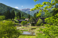 富山県 相倉合掌造り集落と人形山