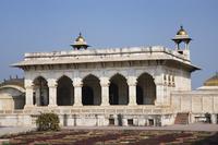 インド アーグラ城塞 シャー・ジャハーン帝の神殿
