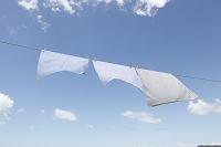 洗濯物と青空