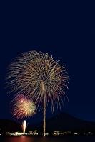 山梨県 富士山夜景と河口湖湖上祭 大・花火大会