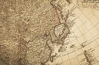 古地図 日本と東アジア