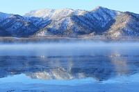 北海道 水鏡の屈斜路湖