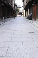 京都府 祇園 町家と石畳