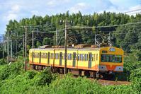 三重県 三岐鉄道 101系普通電車(後追い)