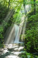 長野県 竜返しの滝