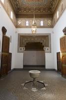 バヒア宮殿 部屋 マラケッシュ モロッコ