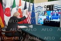 G7首脳がテレビ会議