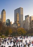 アメリカ ニューヨーク スケートリンク