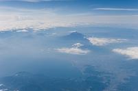 富士山上空(伊丹~成田)
