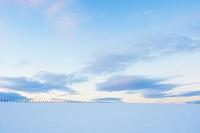 イギリス スコットランド 雪景色