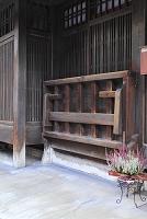 京都府 町家のばったり床几