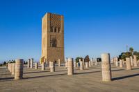 モロッコ ハッサンの塔