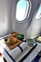 ルフトハンザドイツ航空 ビジネスクラス機内食(和食)