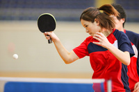 女子卓球選手