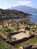 アルジェリア ティパサの考古遺跡