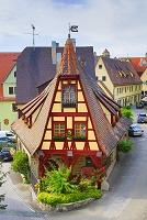 ドイツ ローテンブルク 家並み