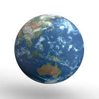 地球 アジア