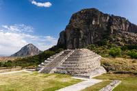 メキシコ モレロス州 チャルカツィンゴ遺跡