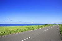 北海道 エサヌカ線と海