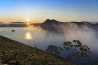 北海道 朝の摩周湖