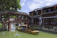 中国 上海 朱家角古鎮