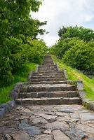 沖縄県 今帰仁城跡 七五三の階段