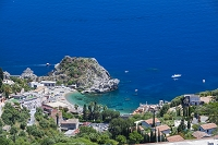 イタリア シチリア島 タオルミーナ マッツァーロ海岸