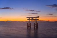 滋賀県 高島市 白鬚神社 湖中大鳥居