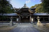 兵庫県 赤穂市 大避神社 拝殿