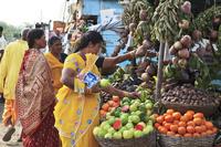 インド ダウラターバード サリー 女性