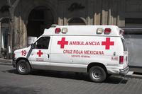 メキシコ メキシコ赤十字救急車