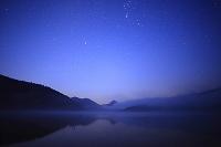 北海道 然別湖と星空