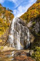 秋田県 秋の安の滝