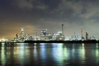 神奈川県 川崎市 京浜工業地帯の夜景