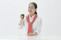シニア日本人女性