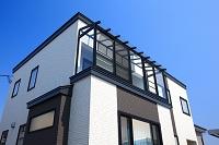 北海道 サンルームのある家