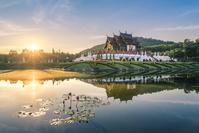 タイ王国 チェンマイ ラチャプルック御苑