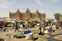 アフリカ ジェンネ旧市街