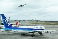 沖縄県 B777型ジェット旅客機
