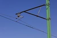 新潟県 直接吊架式の架線
