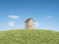 丘に建つおもちゃの家