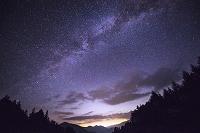 長野県 星空 天の川