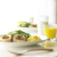ブルスケッタのある朝食